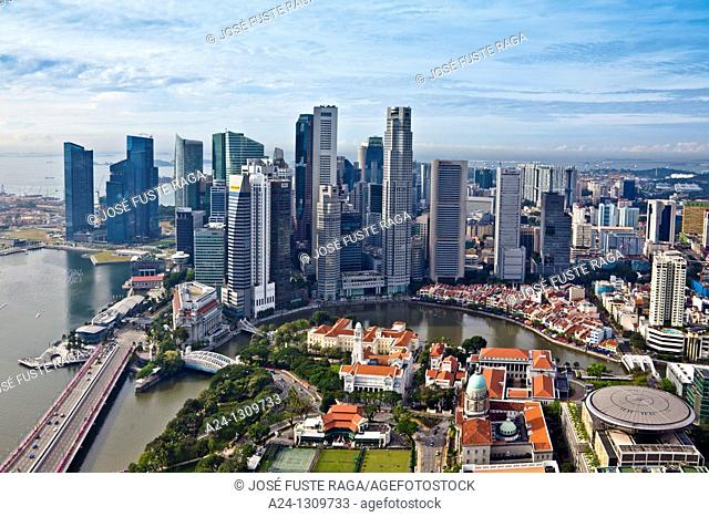 Downtown skyline, Singapore