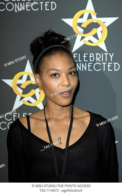 Moniece Slaughter attends Celebrity Connected Luxury Gifting Suite Honoring The American Music Awards at W Hollywood Hotel on November 21, 2015 in Los Angeles