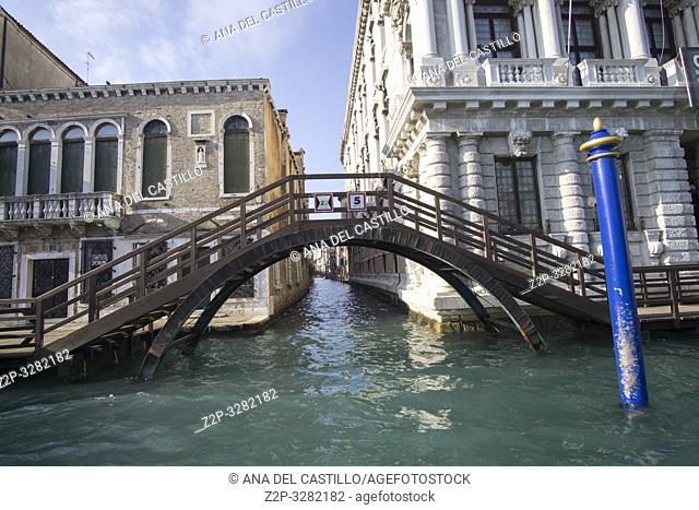 Venice Veneto Italy on January 20, 2019: Grand Canal