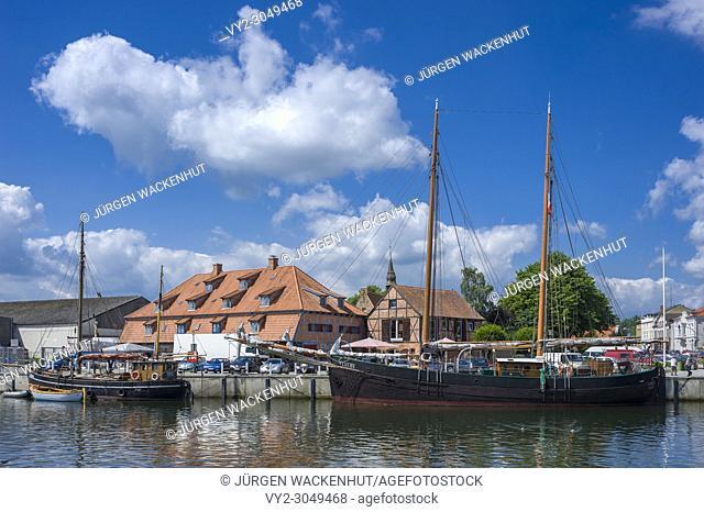Harbor, Neustadt in Holstein, Baltic Sea, Schleswig-Holstein, Germany, Europe