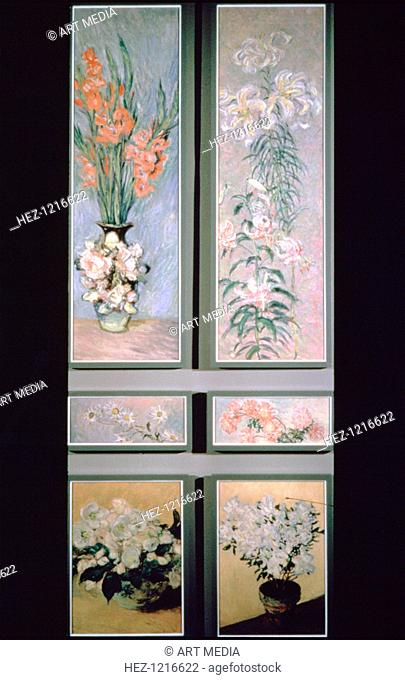 'Set of door panels', 1884-1885. From a private collection