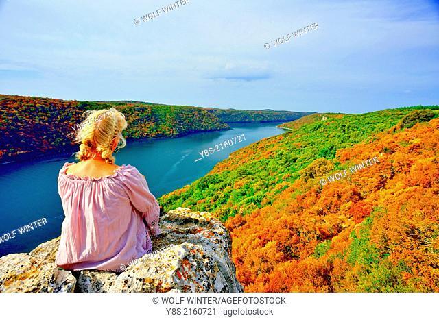 Lim Bay, near Porec, Istria, Croatia