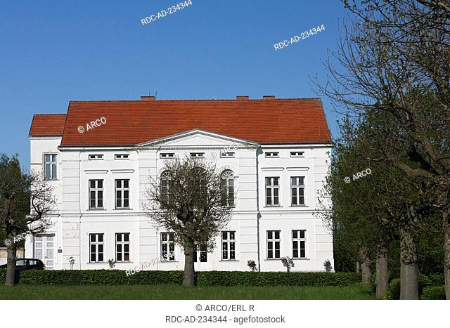 House, Putbus, Isle of Rugen, Mecklenburg-Western Pomerania, Germany, Rügen