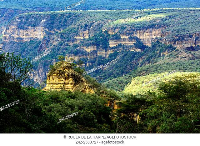 Hells Gate National Park. Naivasha. Great Rift Valley. Kenya