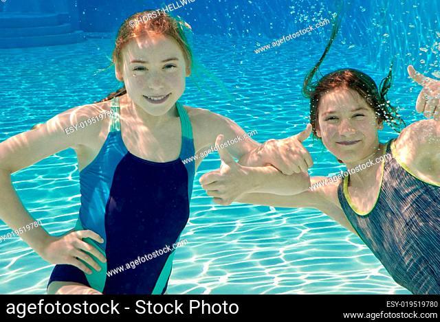 Spass unter Wasser