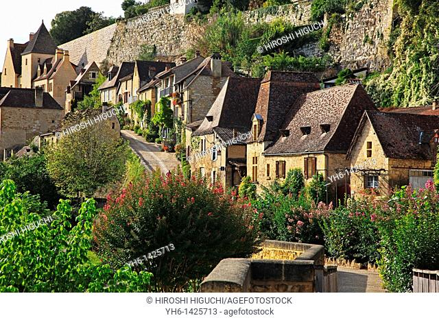 France, Dordogne, Beynac-et- Cazenac in Dordogne Valley