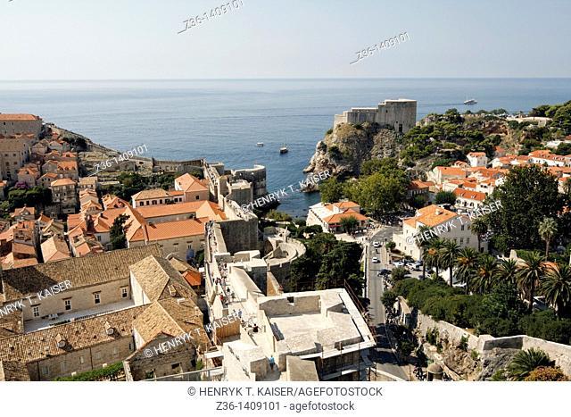 Dubrovnik, Fort Lawrence, UNESCO World Heritage Site, Croatia