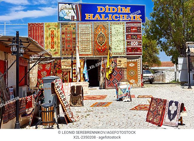 Carpet shop. Didim, Aydin Province, Turkey