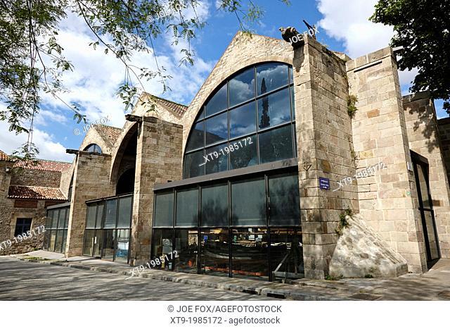 the maritime museum barcelona catalonia spain