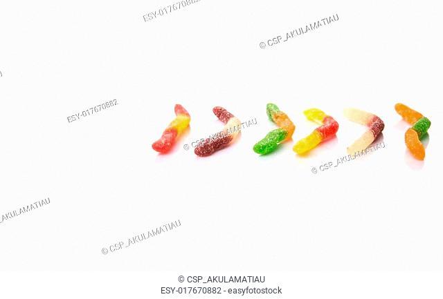 Sugar Jelly Candy Strip