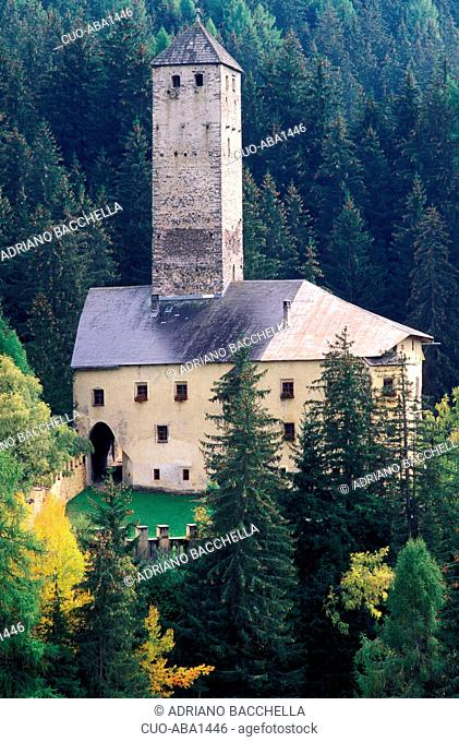 Castle, Monguelfo, Val Pusteria, Trentino Alto Adige, Italy