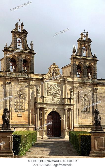 Spain, Andalusia, Ubeda, Iglesia Santa Maria de los Alcazares, church