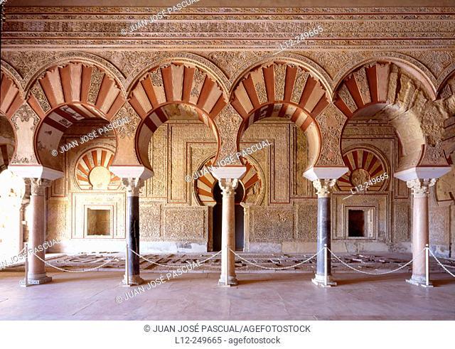 Ruins of Medina Azahara palace. Córdoba province. Andalusia. Spain