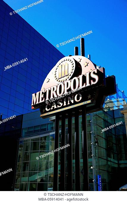 Casino Metropolis at the Novotel, Bucharest, Romania