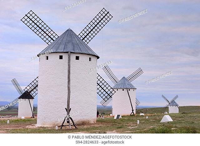 Windmills of Campo de Criptana, Ciudad Real, Spain