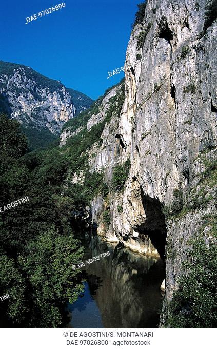 Frasassi Gorge, Gola della Rossa and Frasassi Regional Natural Park, Marche, Italy