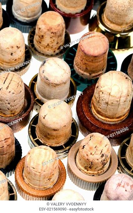 many corks from alcoholic spirits