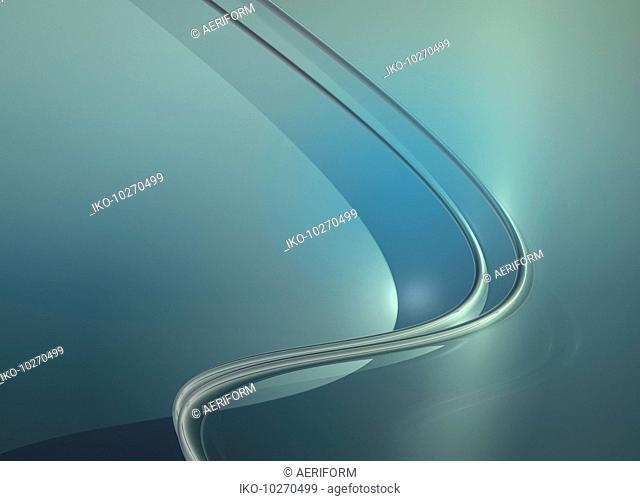 Smooth curved abstract backgrounds pattern