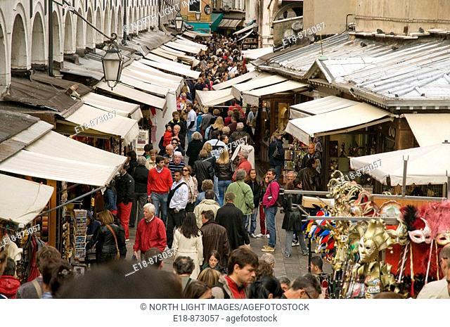 Italy, Venice, Rialto Market