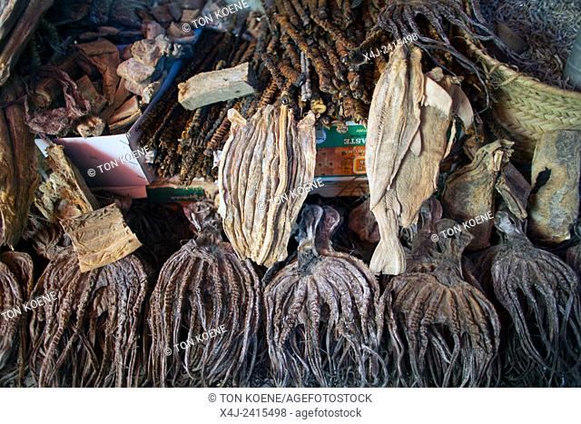 fish market in Zanzibar stone town