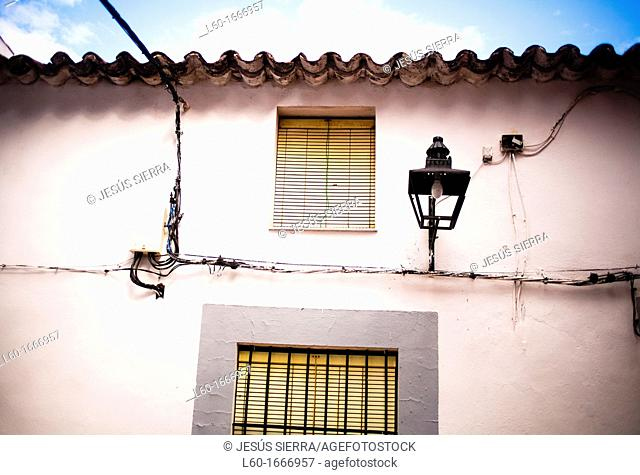 House in Zufre village, Sierra de Aracena y Picos de Aroche, Huelva, Andalucia, Spain