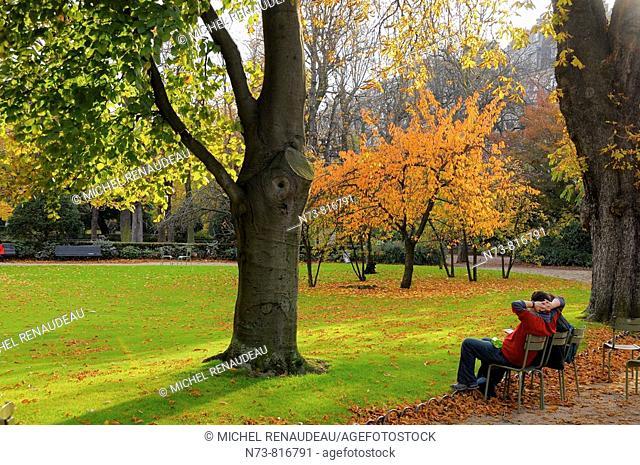 Jardins du Luxembourg, Paris, France