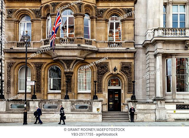 Mark Masons' Hall, 86 St James's Street, London, England