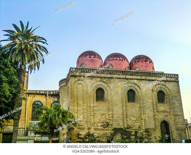 Chiesa di San Cataldo in Palermo, Sicily, Italy