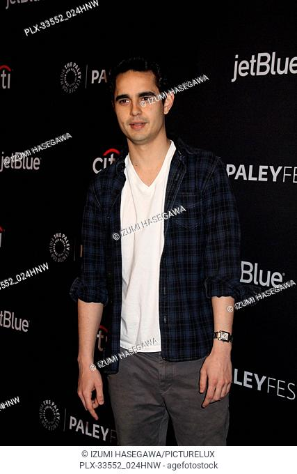 """Max Minghella 03/18/2017 PaleyFest 2018 """"""""The Handmaid's Tale"""""""" held at The Dolby Theatre in Hollywood, CA Photo by Izumi Hasegawa / HNW / PictureLux"""