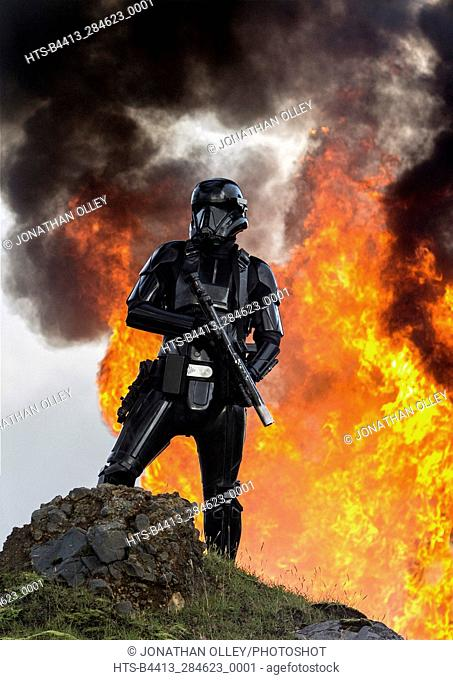 Rogue One: A Star Wars Story. A Death Trooper