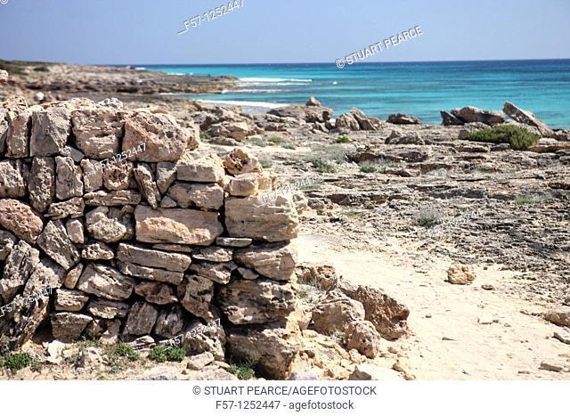 Playa d'es Caragol, Mallorca, Spain