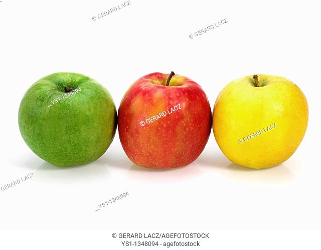 GRANNY SMITH, ROYAL GALA AND GOLDEN APPLES