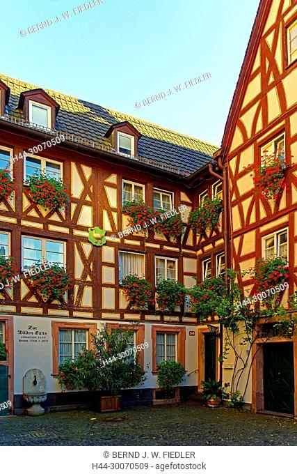 Haus zur wilden Gans, erbaut um 1450