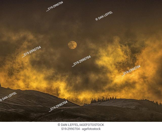 Sunrise Buchovina. Romania