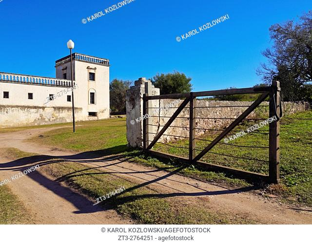 Argentina, Cordoba Province, Colonia Caroya, View of the Jesuit Estancia Caroya