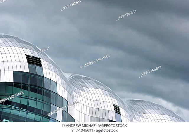 The Sage building, Newcastle upon Tyne, UK