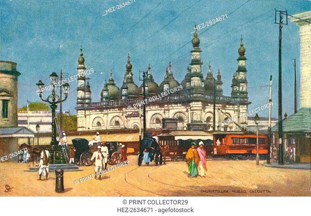'Dhurmtollah Musjid, Calcutta', c1900. Artist: Unknown