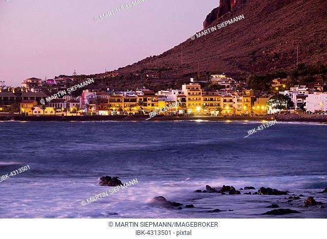 La Playa, Valle Gran Rey, La Gomera, Canary Islands, Spain