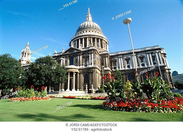 St. Paul's Cathedral, London. England, UK