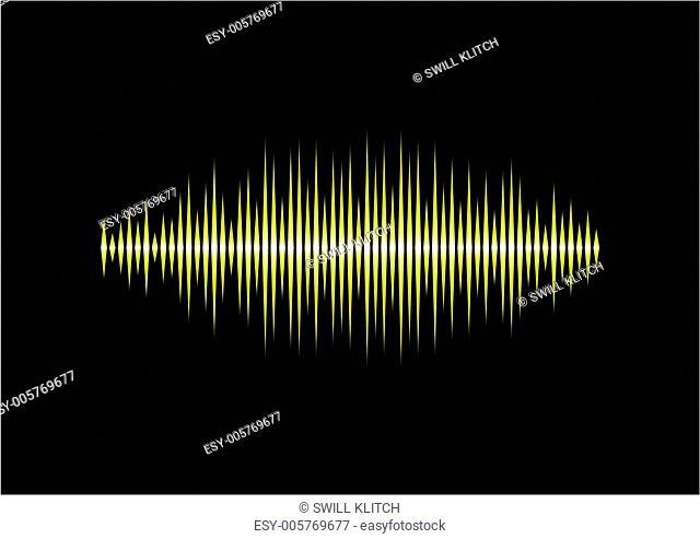 Yellow waveform