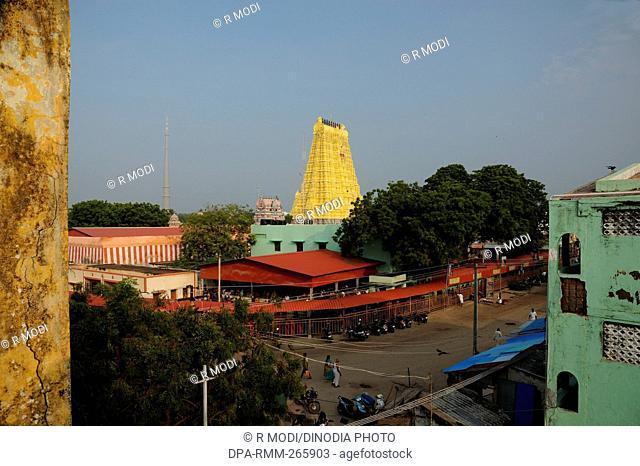 Ramanathaswamy Shiva Temple, Rameswaram, Tamil Nadu, India, Asia