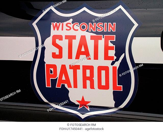 WI, Wisconsin, State Patrol, car, police, close-up