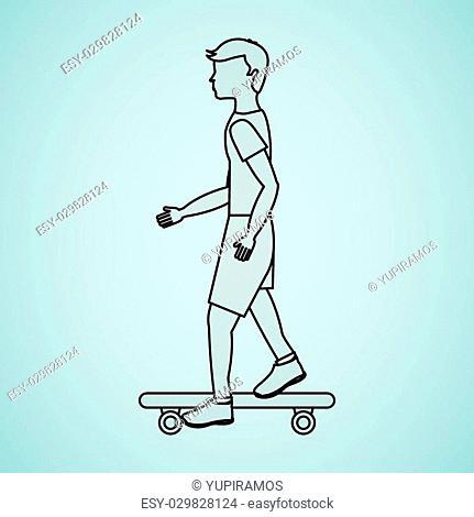 extreme sport design, vector illustration eps10 graphic