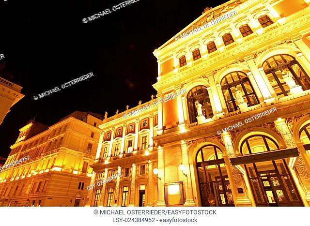 The Opera house in Vienna, Austria, Europe