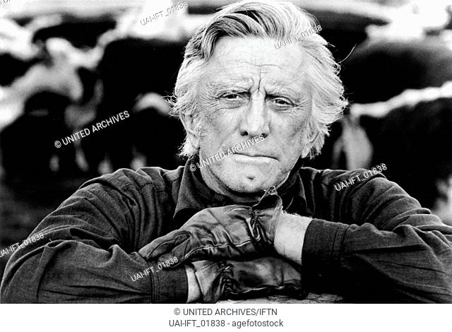 The Man from Snowy River, USA 1982, aka: Snowy River, Regie: George Miller, Darsteller: Kirk Douglas