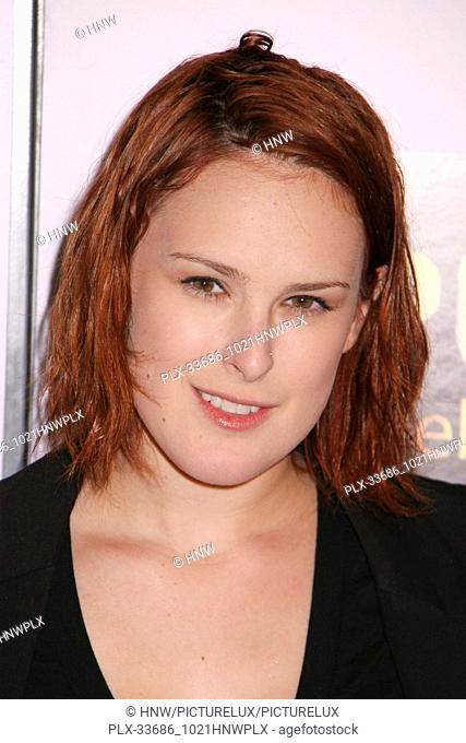 "Rumer Willis 01/29/09 """"Push"""" Premiere @ Mann Village Theatre, Westwood Photo by Megumi Torii/HNW / PictureLux January 29"