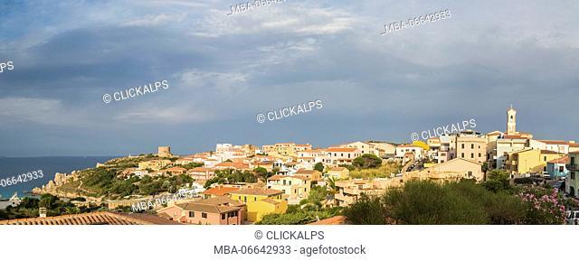 Nuvole su Santa Teresa di Gallura Sardegna