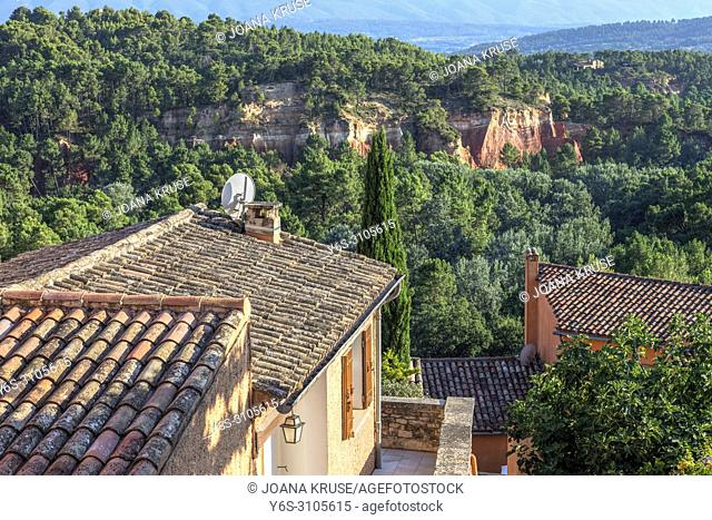 Roussillon, Vaucluse, France, Europe