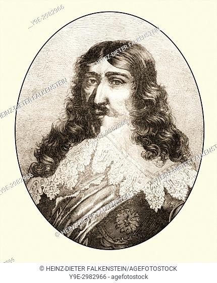 """Louis XIII, 1601 . """" 1643, King of France"""