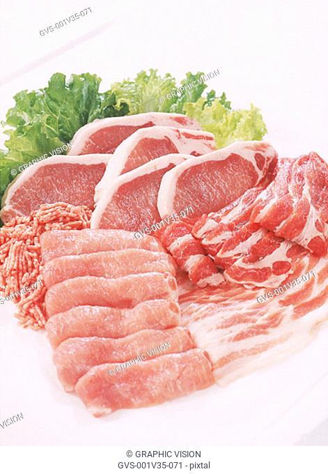 Assorted Cuts of Pork